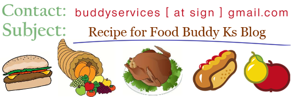 Send Recipes to FoodBuddyKs.com