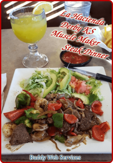 La Hacienda Muscle Maker Steak Dinner